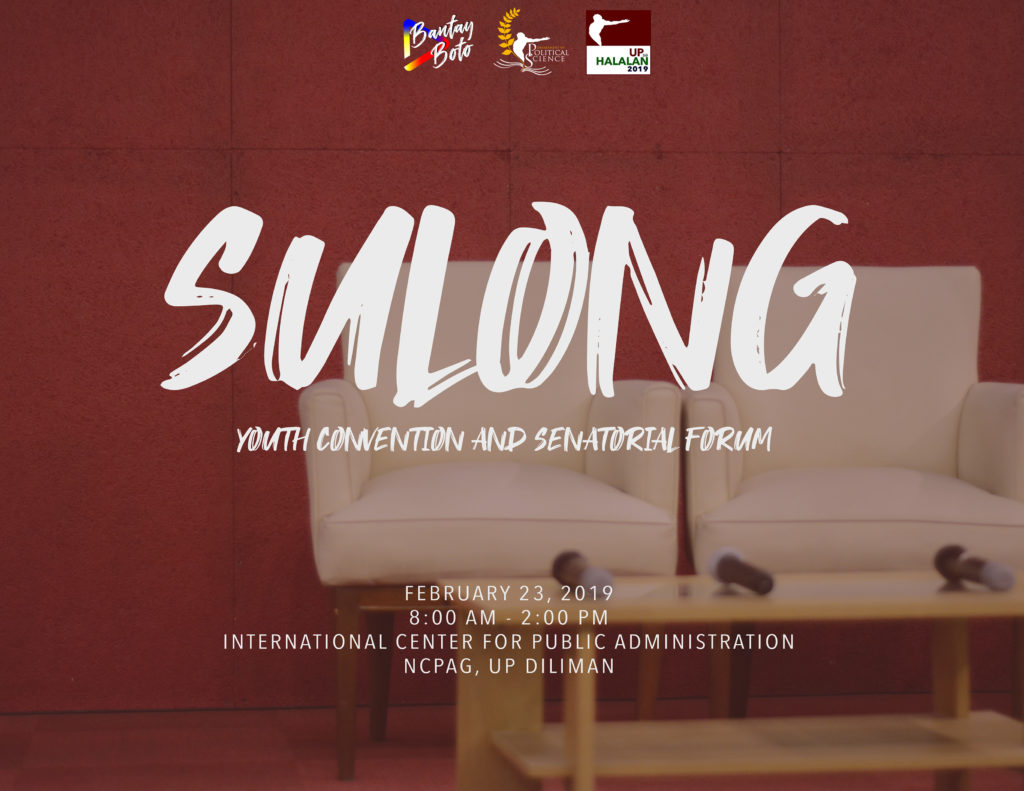 Sulong: Youth Convention and Senatorial Forum