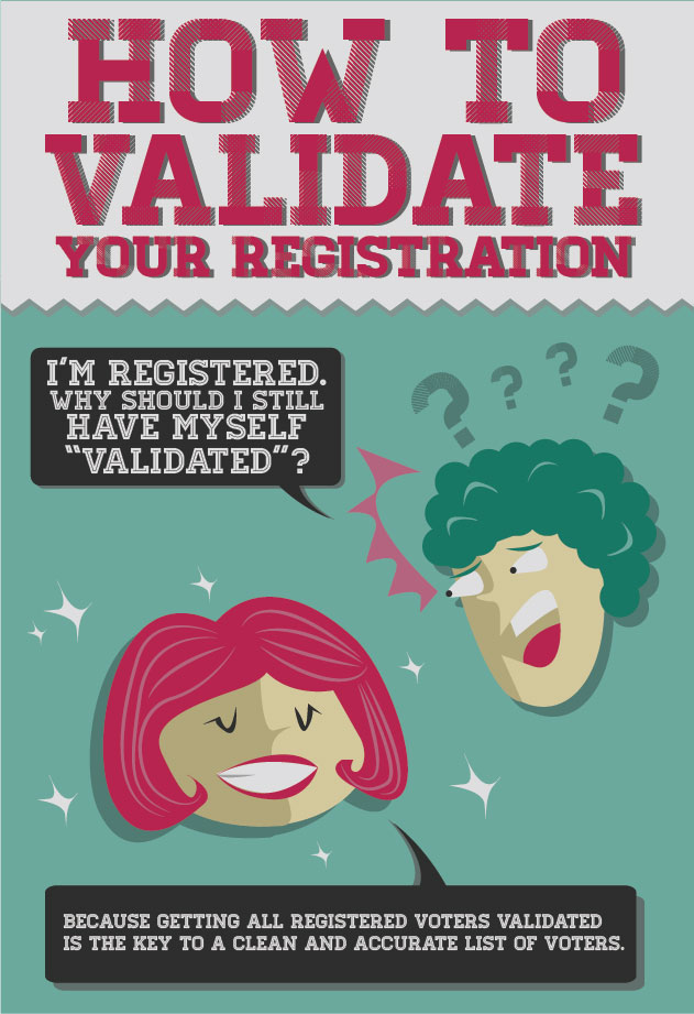 How to Validate Your Registration