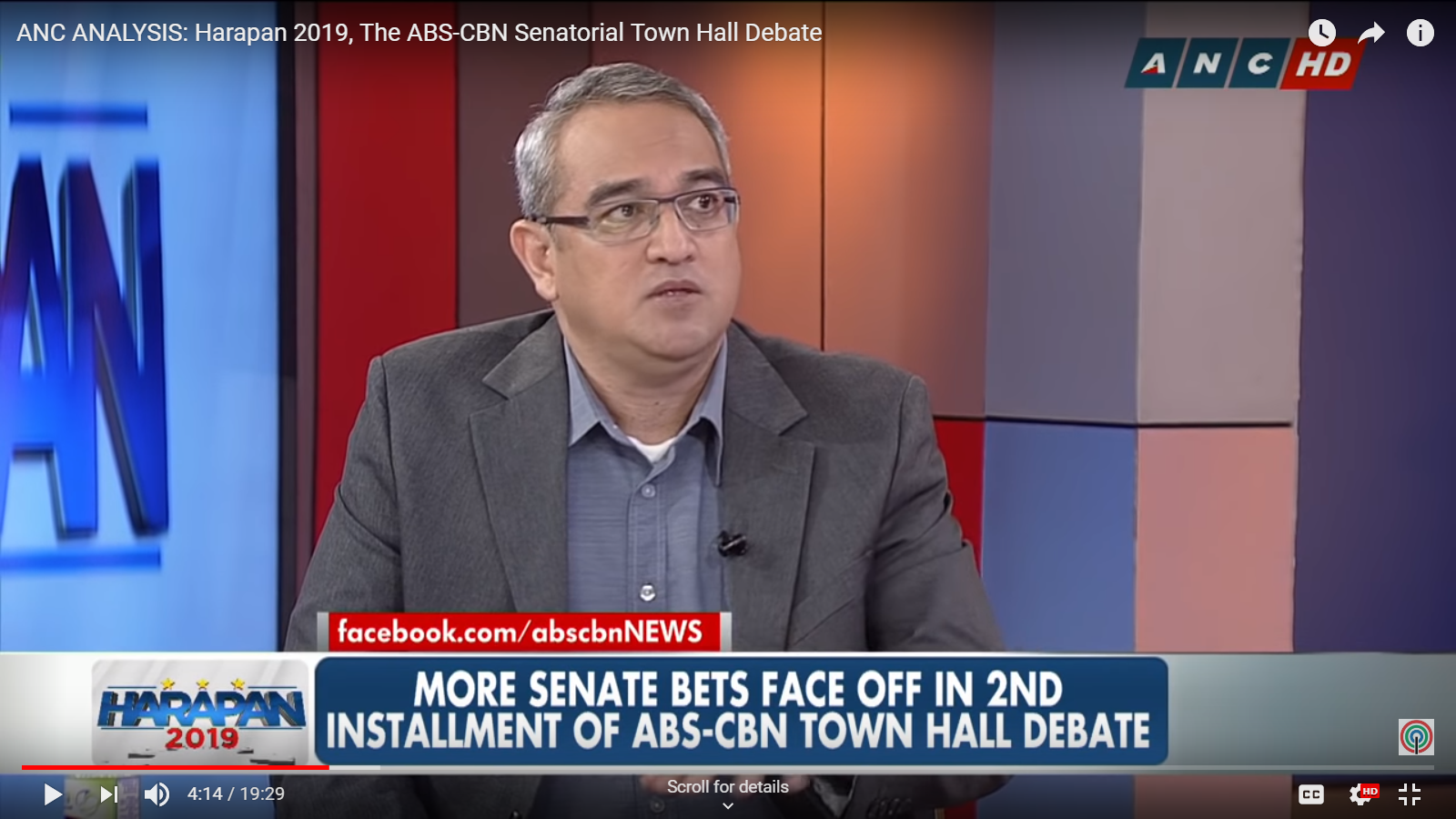 Post-debate analysis of ANC's #Harapan2019