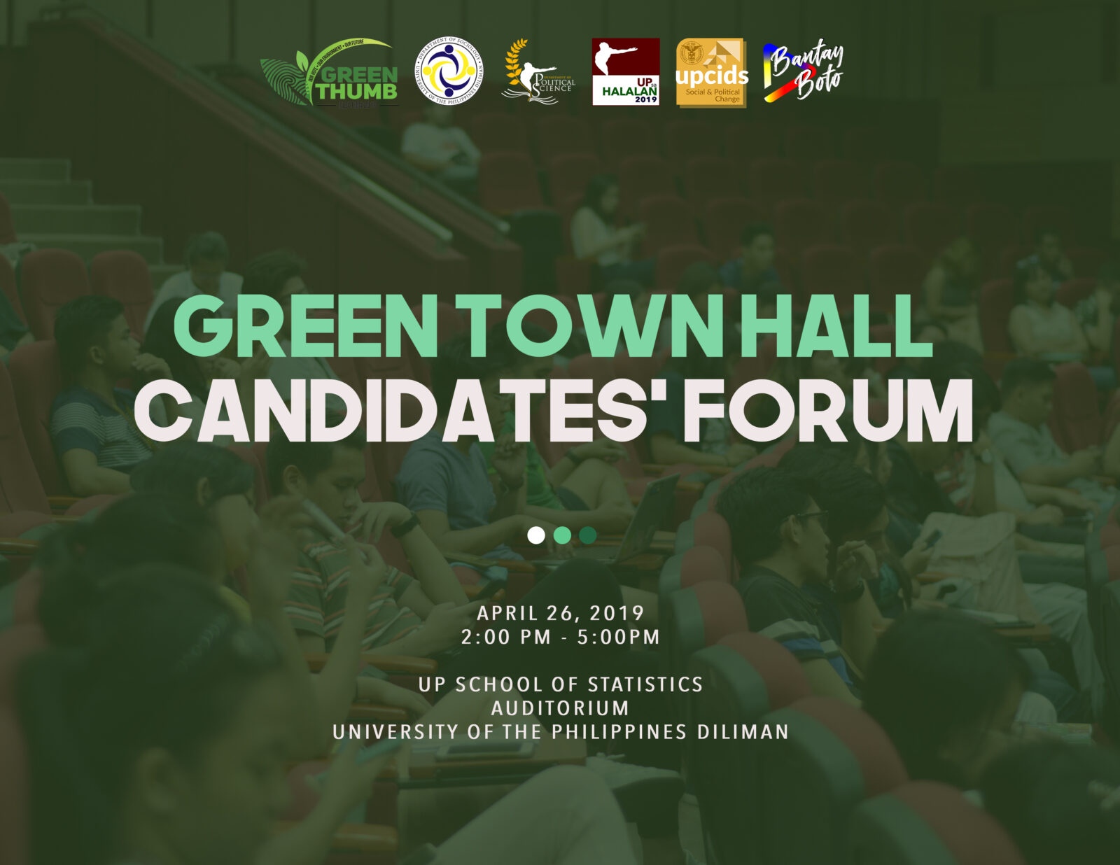 Green Town Hall Candidates' Forum