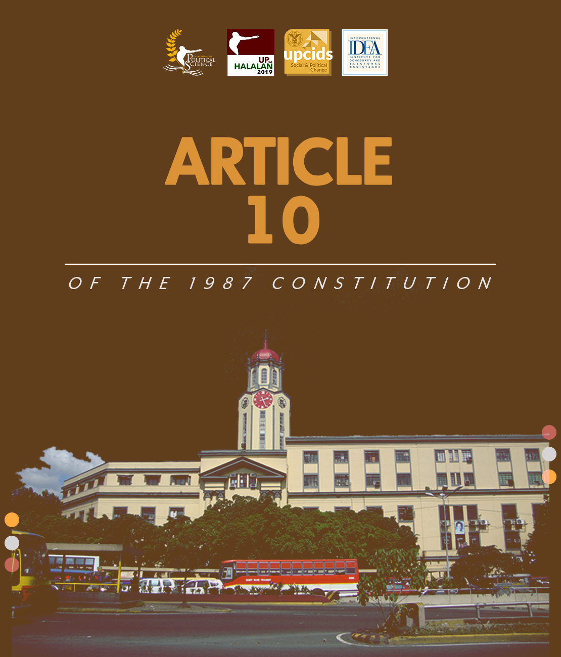Article 10 of the 1987 Constitution