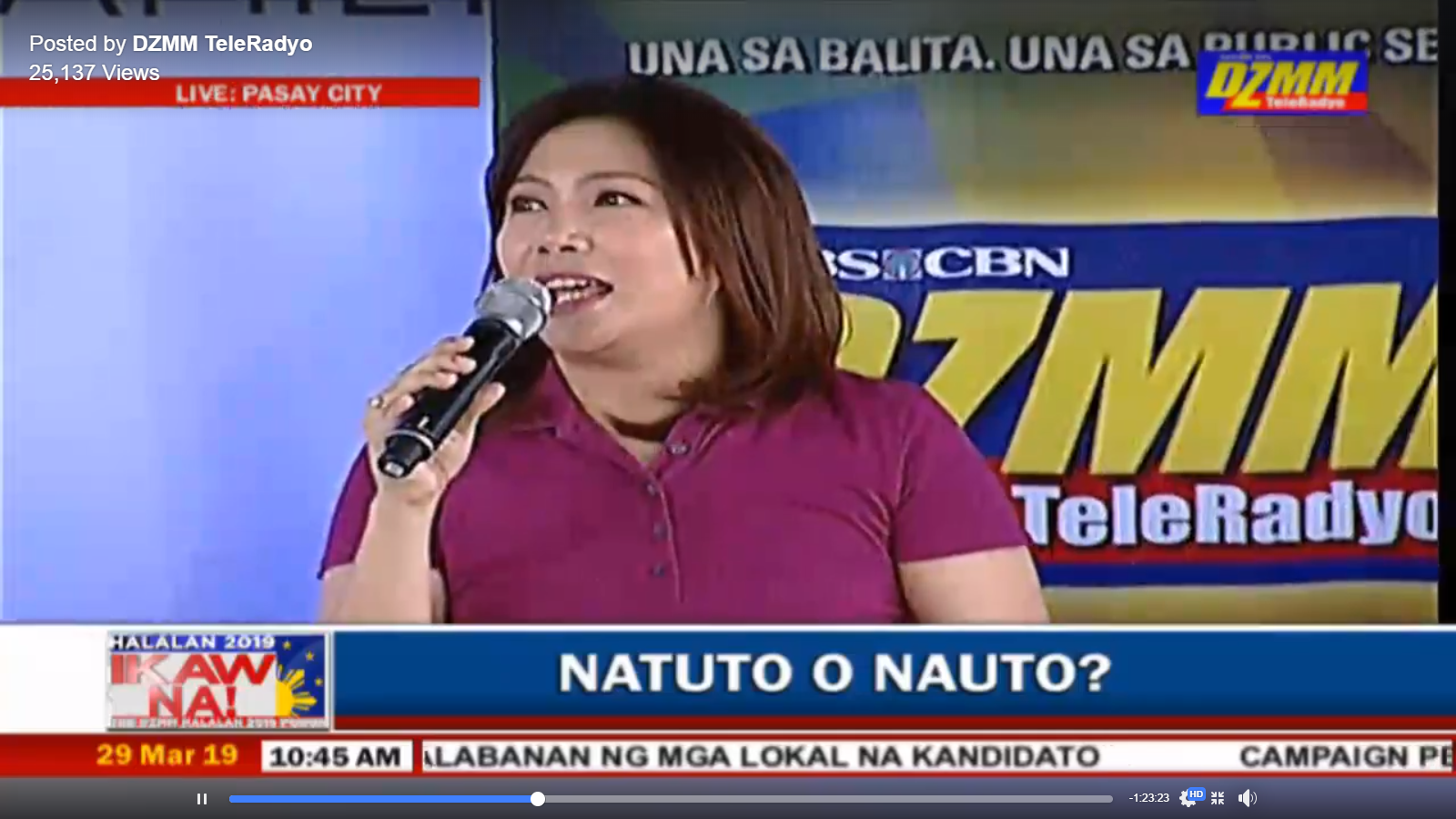 Dr. Jean Encinas-Franco on DZMM TeleRadyo's Ikaw Na Forum for Halalan 2019