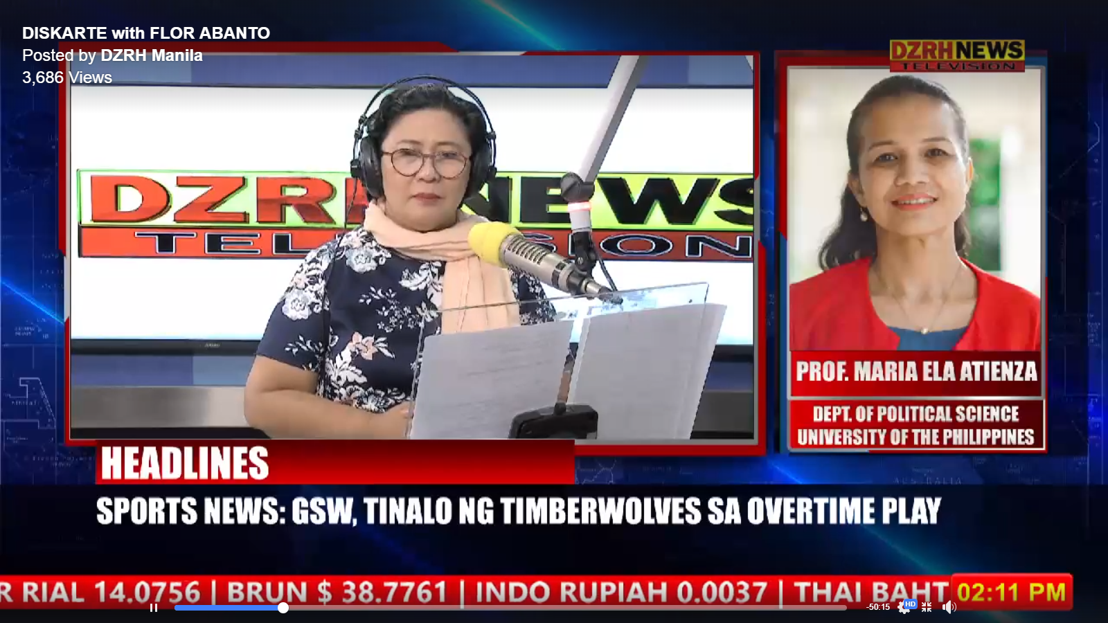 Political parties, elections, and voting behavior on DZRH News' Diskarte