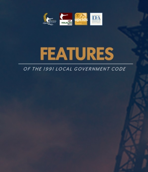 Features of the 1991 Local Government Code