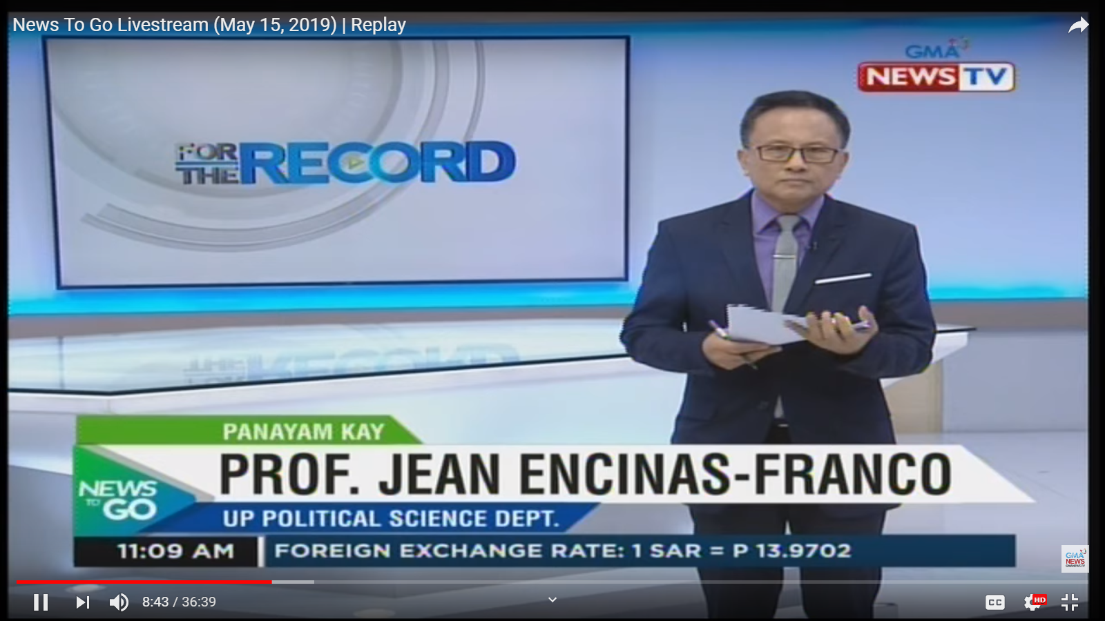 News To Go: Dr. Jean Encinas-Franco