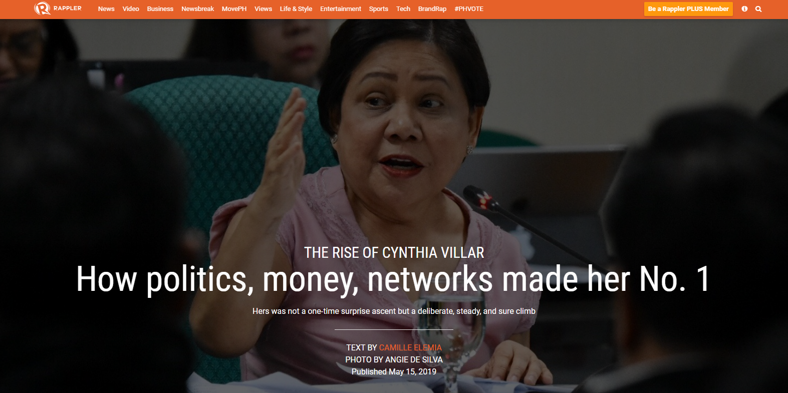 The rise of Cynthia Villar: How politics, money, networks made her No. 1