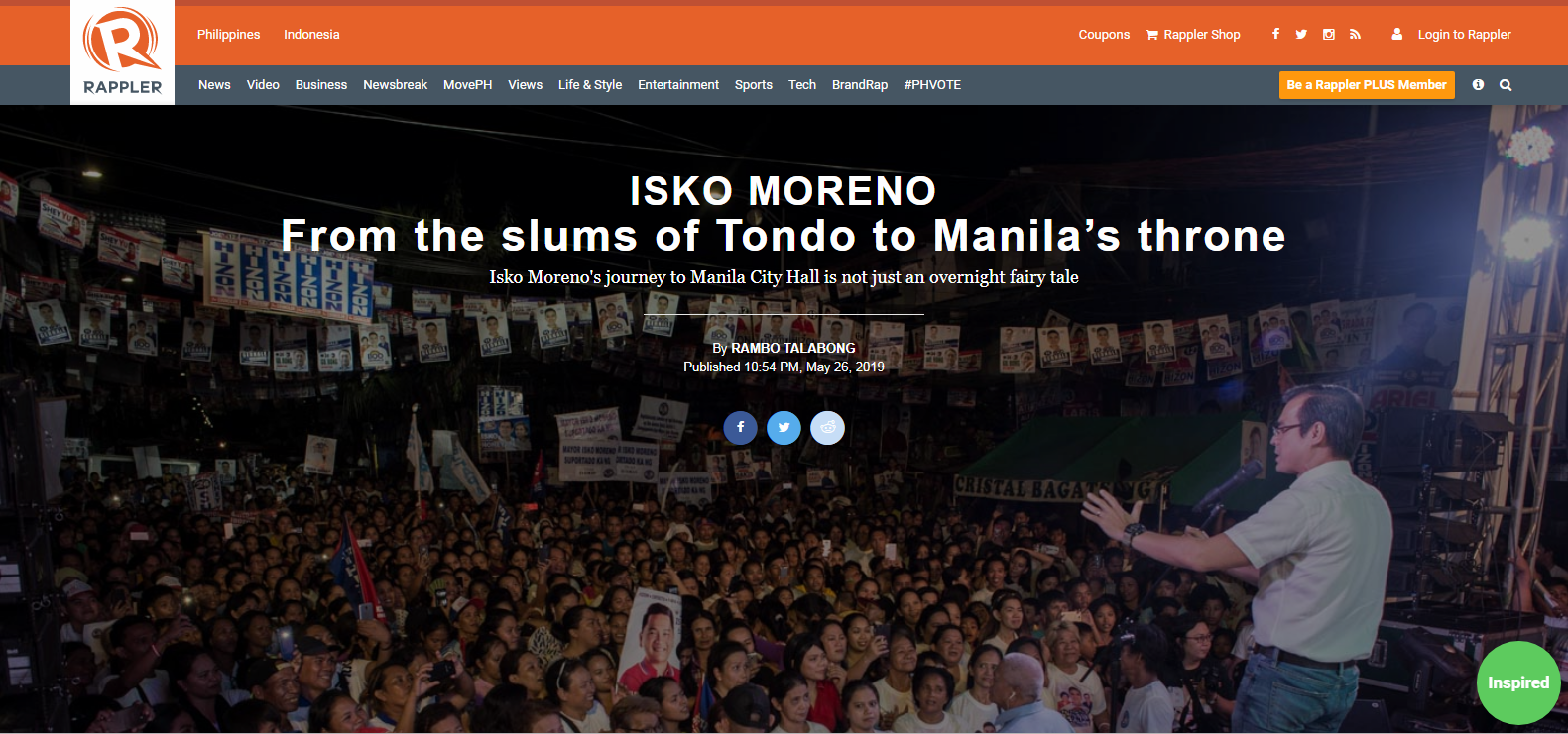 Isko Moreno: From the slums of Tondo to Manila's throne