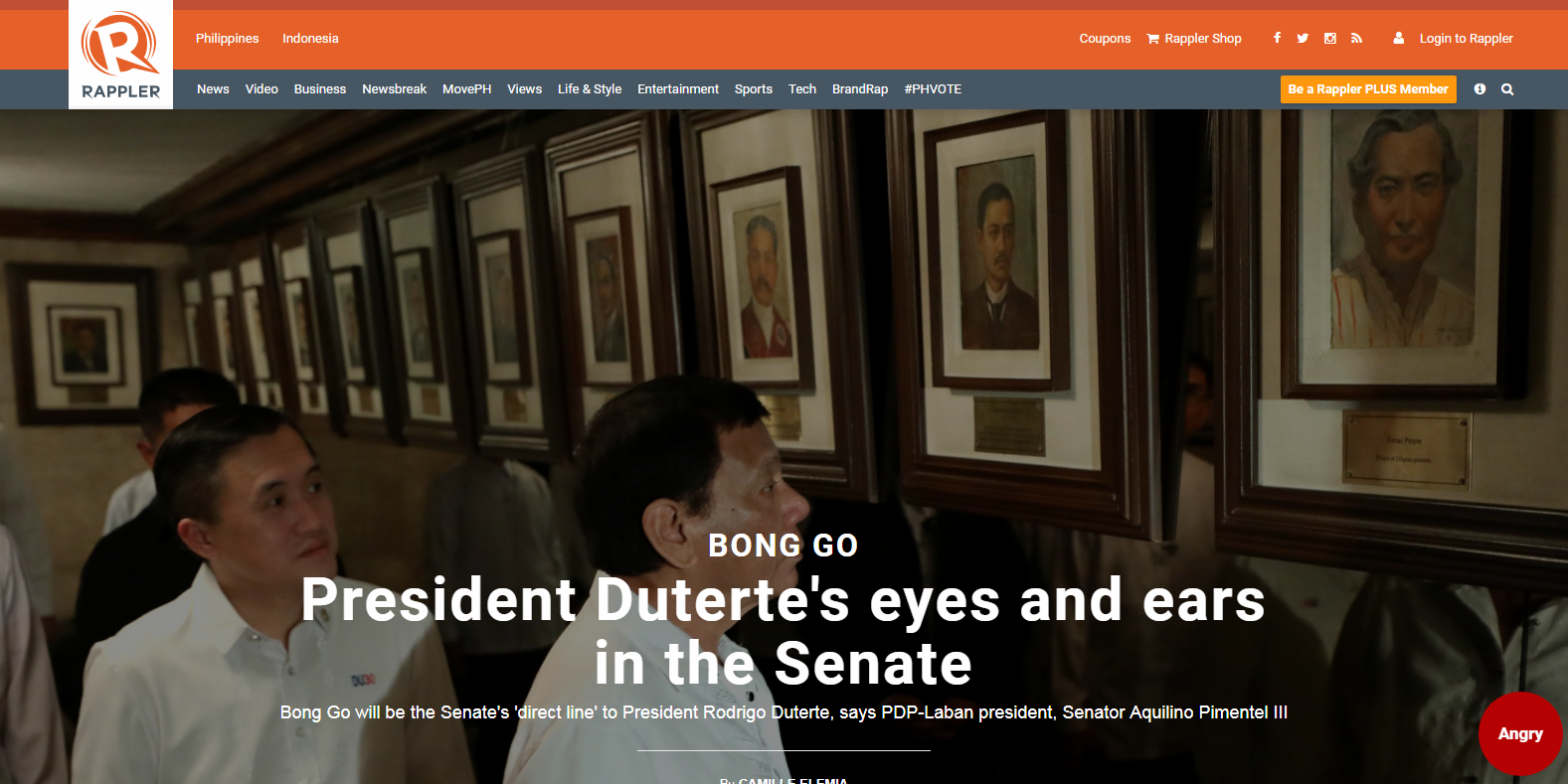 Bong Go: President Duterte's eyes and ears in the Senate